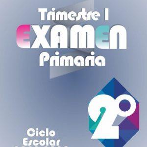 Examen de Primaria Segundo Grado - Primer Trimestre 2019-2020