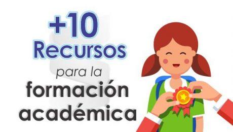 10 recursos para la formacion academica