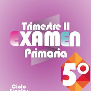 Examen de Primaria 5° Grado - Segundo Trimestre 2019-2020