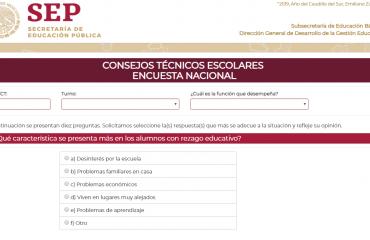 """2da. Consulta Nacional sobre """"Consejo Técnico Escolar (CTE)"""""""