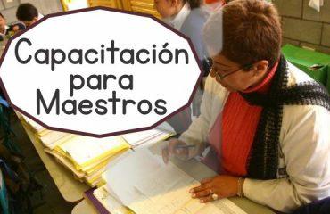 Capacitación para maestros