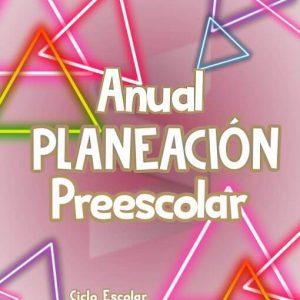Paquete de Planeación Argumentada Preescolar - Ciclo Escolar 19-20 (Anual)