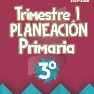 Planeación Argumentada 3° Grado de Primaria - Ciclo Escolar 19-20 (Trimestre I)