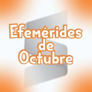 Efemerides del mes de Octubre Gratis