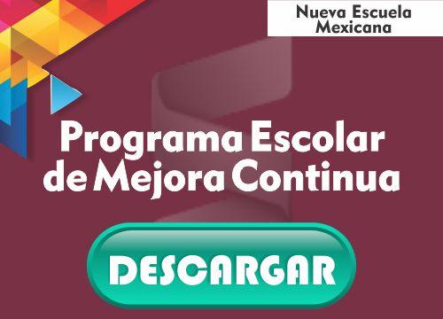 Programa de Mejora Continua Escolar