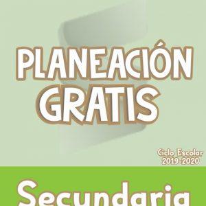 Planeación Secundaria de Español - Ciclo Escolar 2019-2020 (GRATIS)
