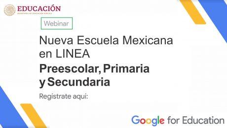 Nueva Escuela Mexicana en LINEA