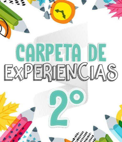 CARPETA DE EXPERIENCIAS Aprende en Casa - Primaria Segundo Grado 2019 - 2020