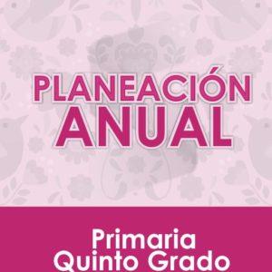 Plan Anual de Quinto Grado de Primaria 2020 - 2021