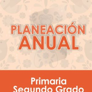 Plan Anual de Segundo Grado de Primaria 2020 - 2021