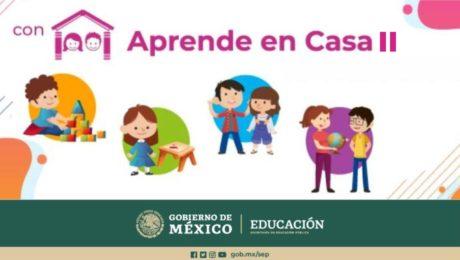 SEP - Consulta los oficiales horario de Aprende en Casa II
