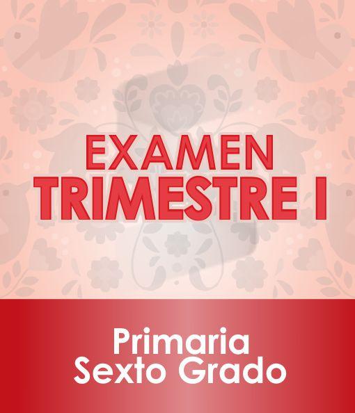 Examen Primer Trimestre - SEXTO Grado de Primaria 2020 - 2021