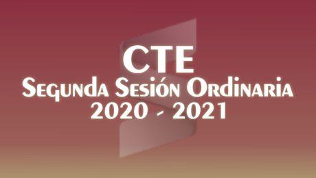 Consejo Técnico Escolar 2020 2021 - Segunda Sesión Ordinaria