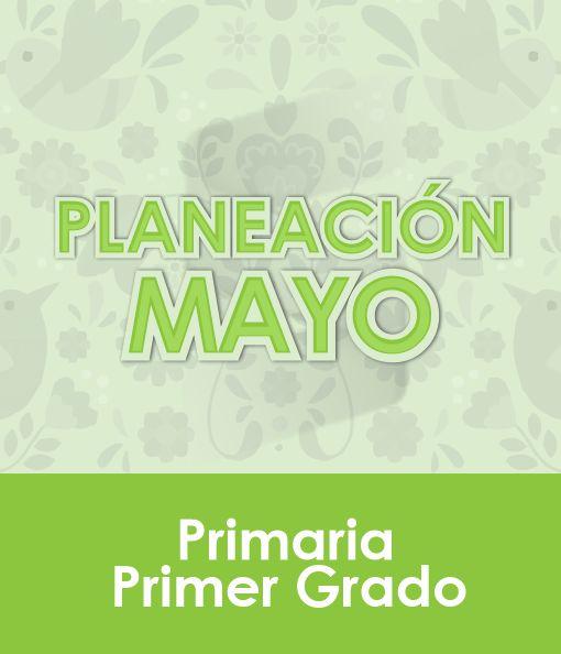 Planeación de Mayo - PRIMER Grado Primaria 2020 - 2021