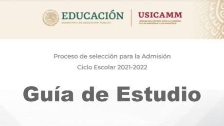 Guía de Estudio para Examen USICAMM