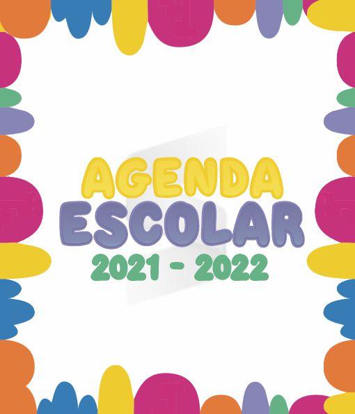 Agenda Escolar 2021 - 2022 (Animada)