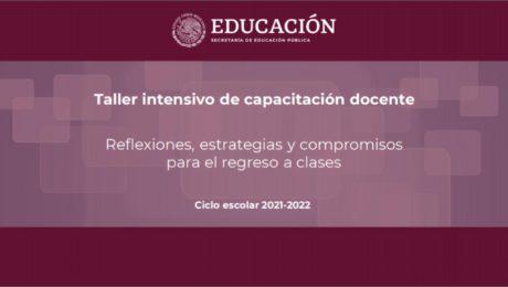 Taller intensivo de capacitación docente
